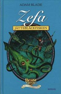 bokomslag Zefa - jättebläckfisken