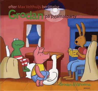 bokomslag Grodan på pyjamasparty