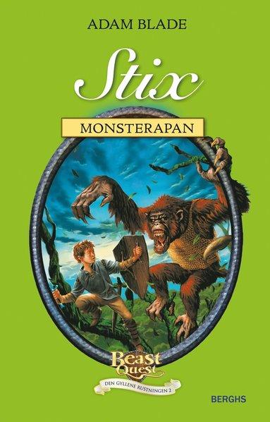 bokomslag Stix - monsterapan