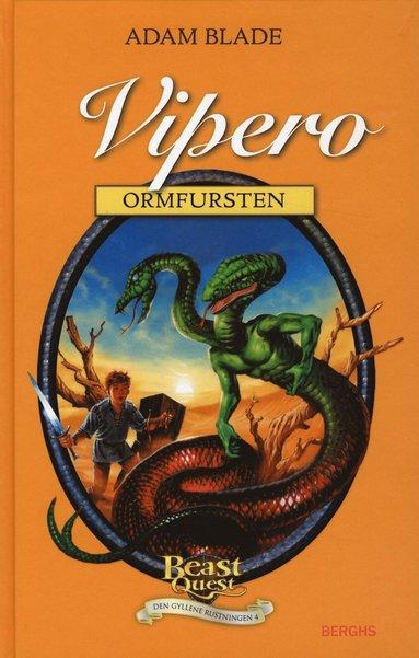 bokomslag Vipero - ormfursten
