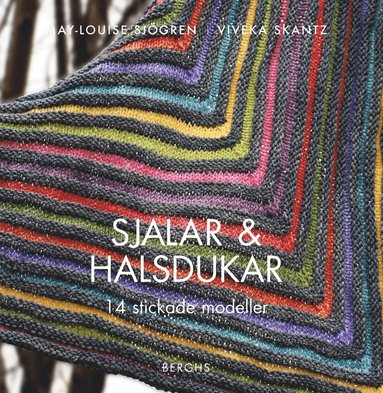 bokomslag Sjalar och halsdukar : 14 stickade modeller