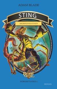 bokomslag Sting - skorpionmannen