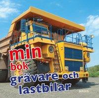 bokomslag Min bok om grävare och lastbilar