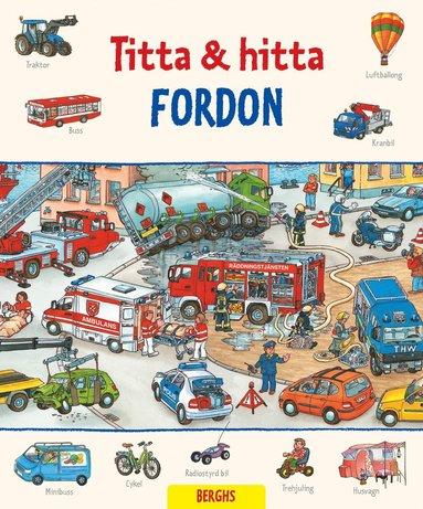 bokomslag Titta & hitta. Fordon