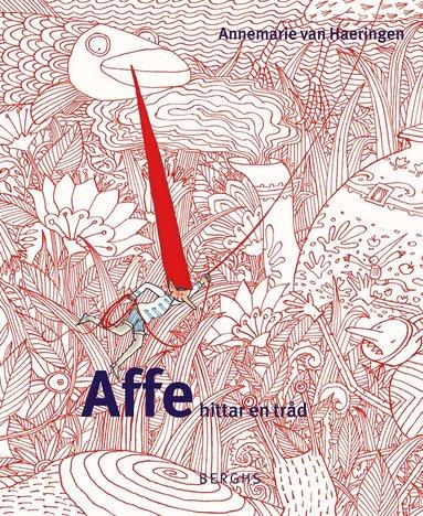 bokomslag Affe hittar en tråd