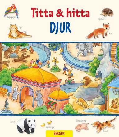 bokomslag Titta & hitta : Djur