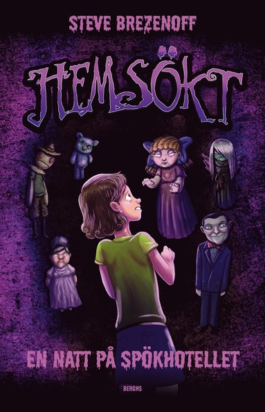 bokomslag Hemsökt : en natt på spökhotellet