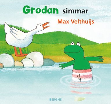 bokomslag Grodan simmar