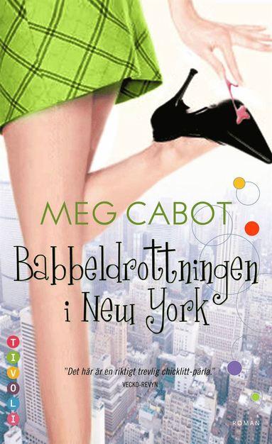 bokomslag Babbeldrottningen i New York