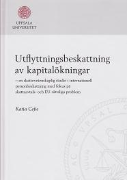 bokomslag Utflyttningsbeskattning av kapitalökningar