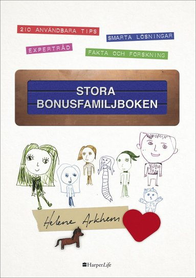 bokomslag Stora bonusfamiljboken