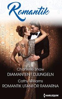 bokomslag Diamanten i djungeln / Romantik utanför ramarna