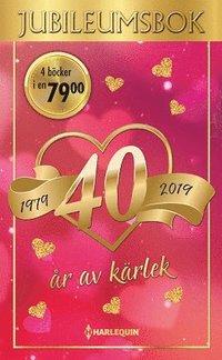 bokomslag Jubileumsbok (Kärlekens dag/Alla kvinnors man/En enda liten kyss/Vidder..)