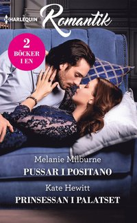 bokomslag Pussar i Positano ; Prinsessan i palatset