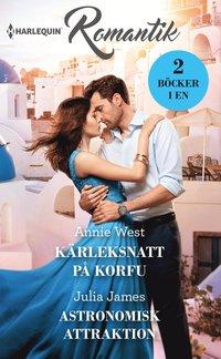 bokomslag Kärleksnatt på Korfu ; Astronomisk attraktion