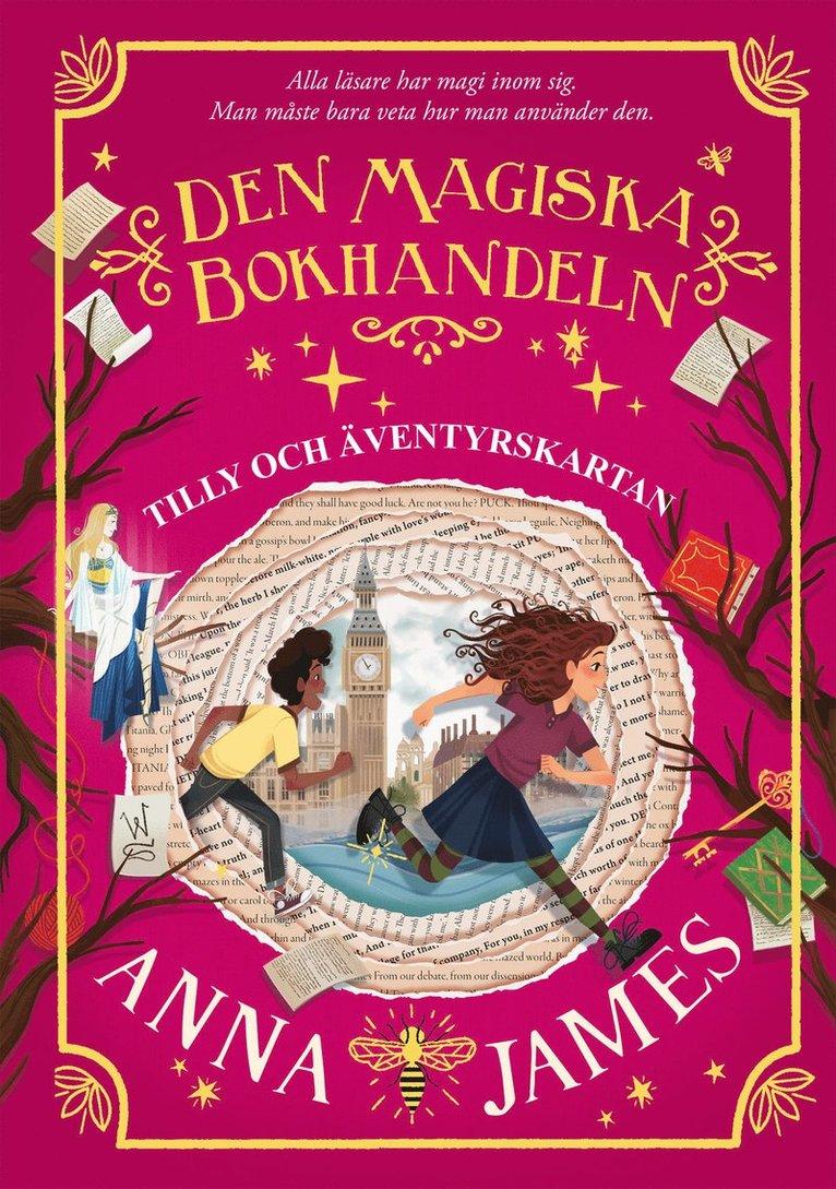 Den magiska bokhandeln: Tilly och äventyrskartan 1