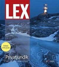 bokomslag LEX Privatjuridik, fakta- och övningsbok
