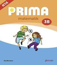 bokomslag Prima matematik 3B grundbok