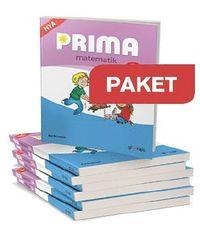 bokomslag Prima matematik 1A, Grundbok 25 ex