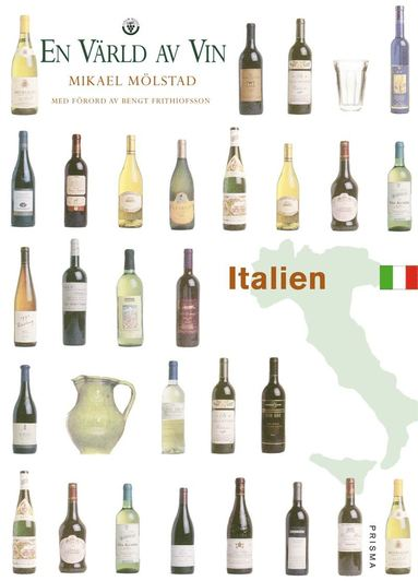 bokomslag Italien - En värld av vin