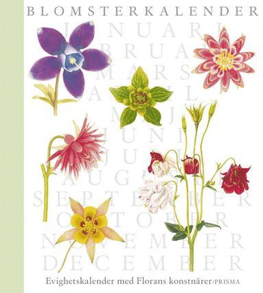 bokomslag Blomsterkalender