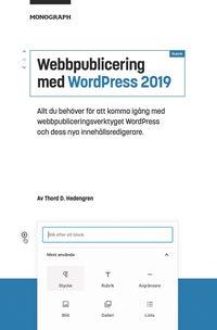bokomslag Webbpublicering med WordPress 2019