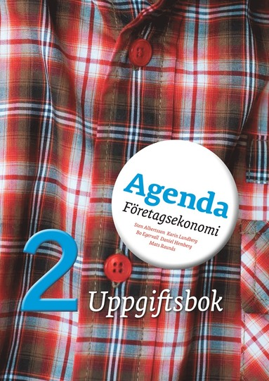 bokomslag Agenda 2 Företagsekonomi Uppgiftsbok