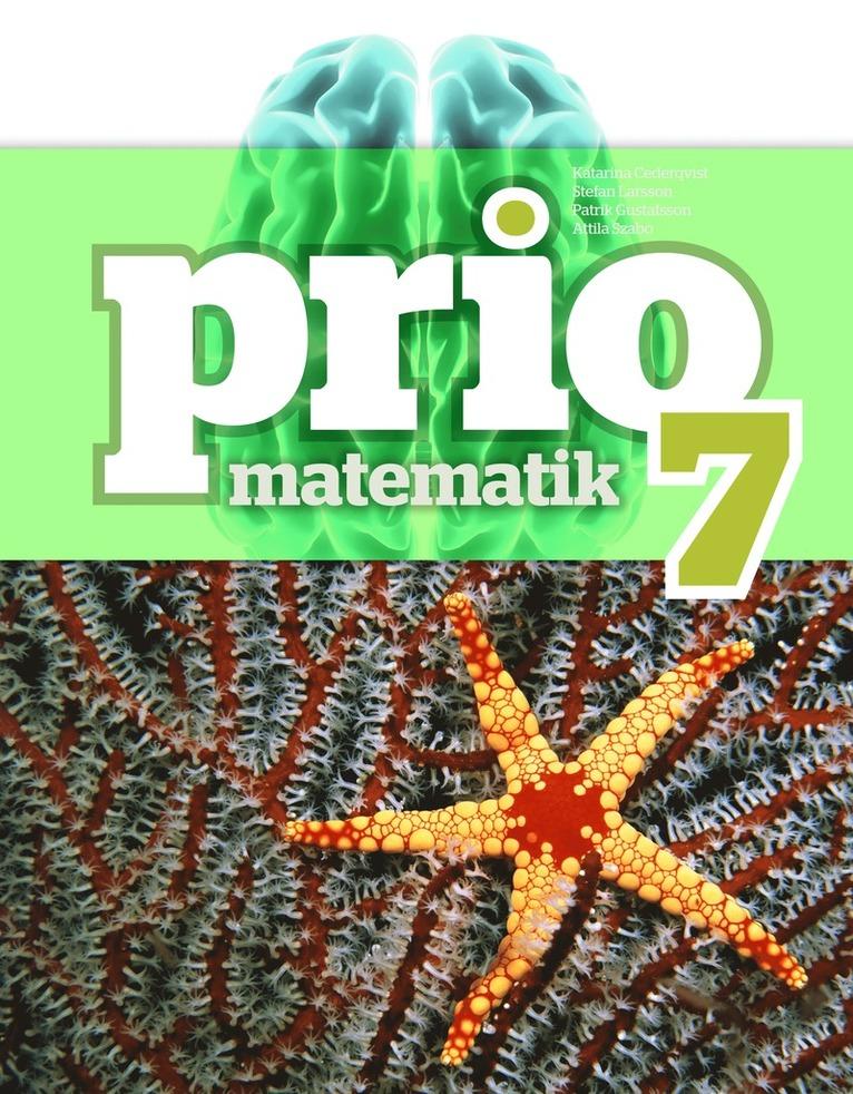 Prio Matematik 7 Grundbok 1