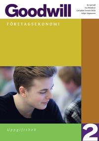 bokomslag Goodwill Företagsekonomi 2 Uppgiftsbok