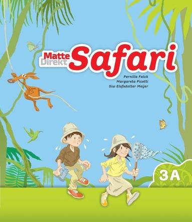 bokomslag Matte Direkt Safari 3A Elevbok