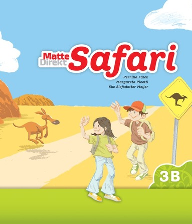 bokomslag Matte Direkt Safari 3B Elevbok