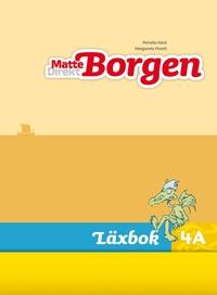 bokomslag Matte Direkt Borgen Läxbok 4A Ny upplaga