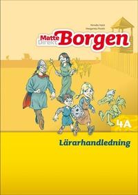 bokomslag Matte Direkt Borgen Lärarhandledning 4A Ny upplaga