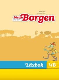 bokomslag Matte Direkt Borgen Läxbok 4B Ny upplaga