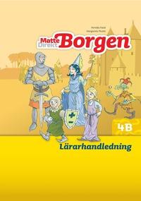 bokomslag Matte Direkt Borgen Lärarhandledning 4B Ny upplaga