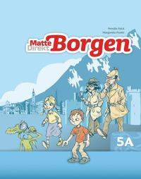 bokomslag Matte Direkt Borgen Grundbok 5A Ny upplaga