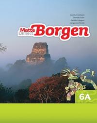 bokomslag Matte Direkt Borgen Grundbok 6A Ny upplaga