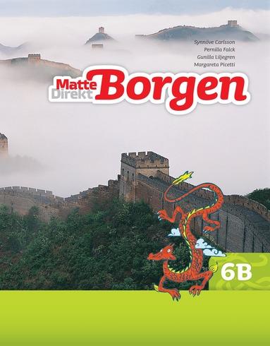 bokomslag Matte Direkt Borgen Grundbok 6B Ny upplaga