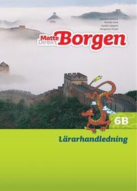 bokomslag Matte Direkt Borgen Lärarhandledning 6B Ny upplaga