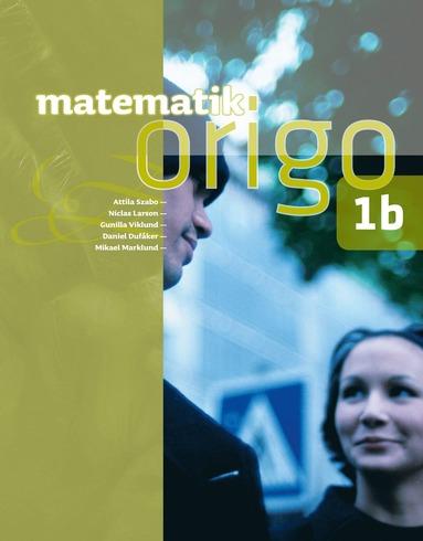 bokomslag Matematik Origo 1b