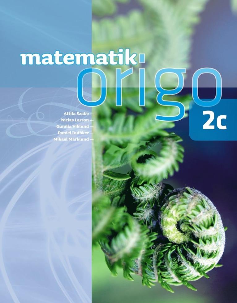 Matematik Origo 2c 1