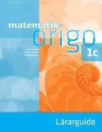 bokomslag Matematik Origo 1c Lärarguide