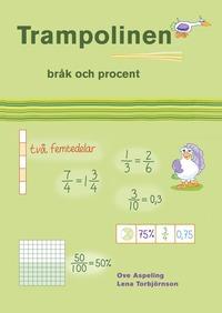 bokomslag Trampolinen - Bråk och procent