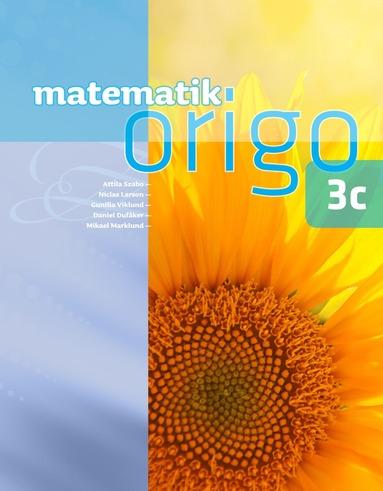 bokomslag Matematik Origo 3c