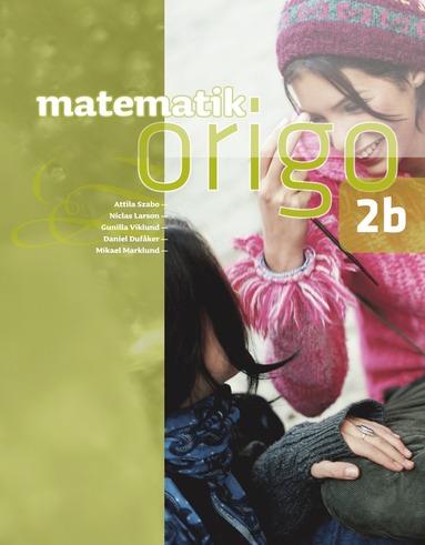 bokomslag Matematik Origo 2b
