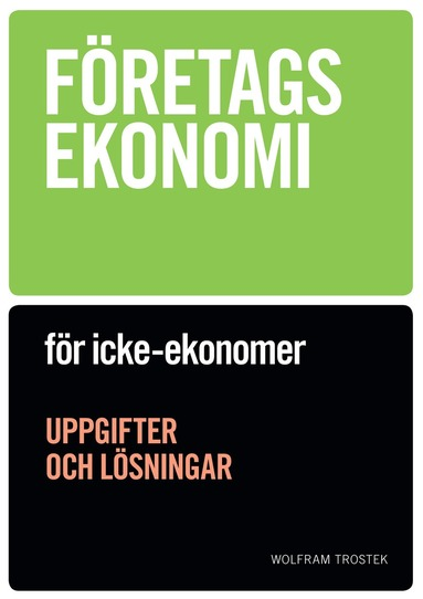 bokomslag Företagsekonomi för icke-ekonomer Uppgiftsbok