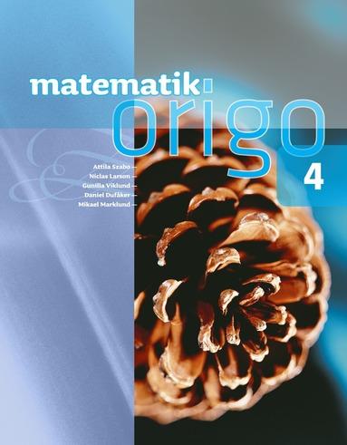 bokomslag Matematik Origo 4