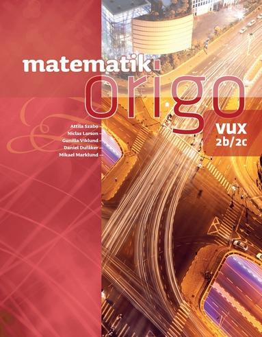 bokomslag Matematik Origo 2b/2c vux
