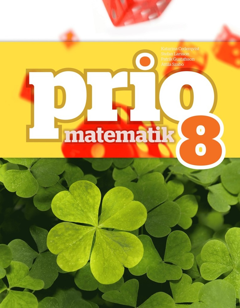 Prio Matematik 8 Grundbok 1