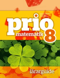 bokomslag Prio Matematik 8 Lärarguide